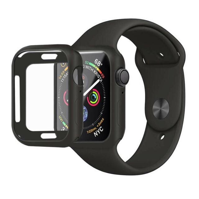 Meneea For Apple Watch Series 4 Case Protector Ultra Thin Anti Scrat Black 44mm For Sale Online Ebay