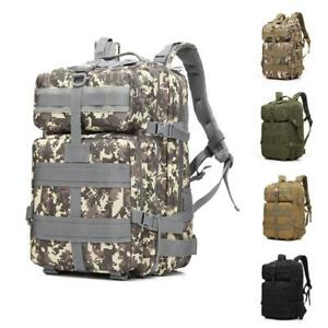 45L-Military-Tactical-Assault-Backpack-Outdoor-Molle-Rucksack-Waterproof-Hiking