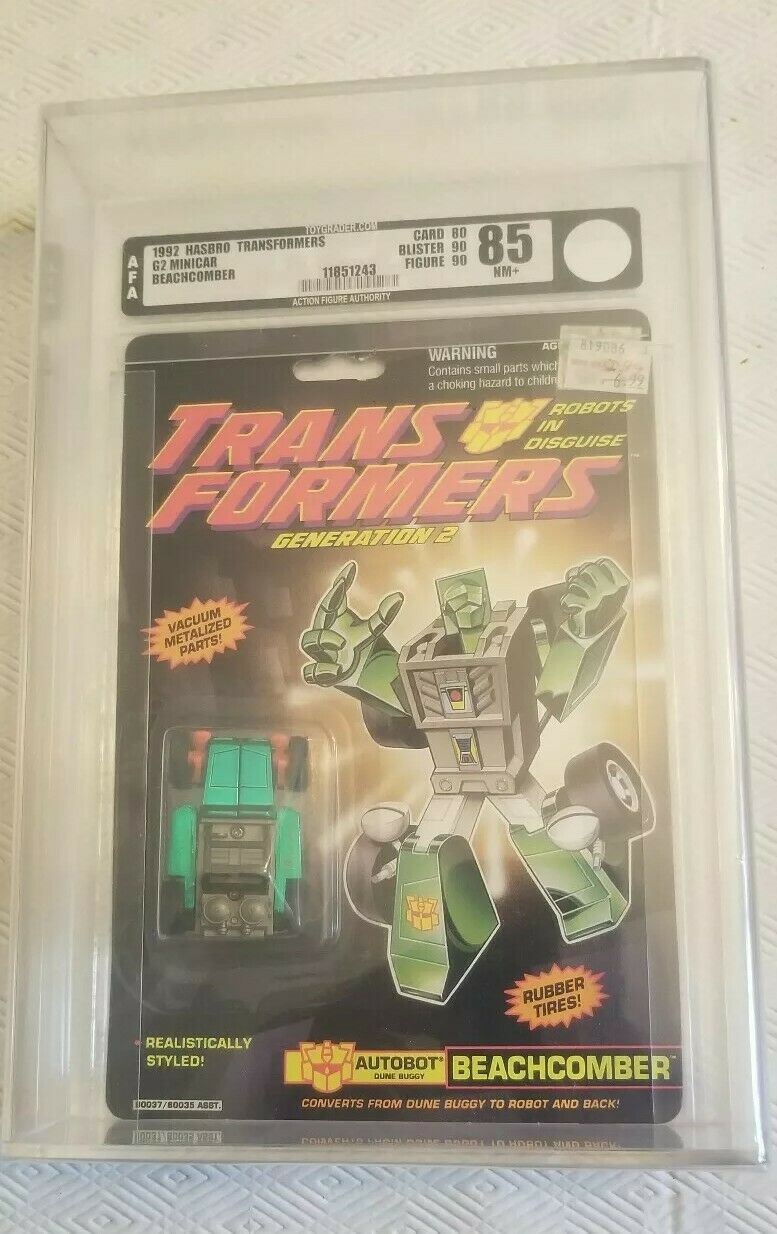 Transformers Generation 2 Beachcomber (Hasbro 1992) AFA 85 80 90 90