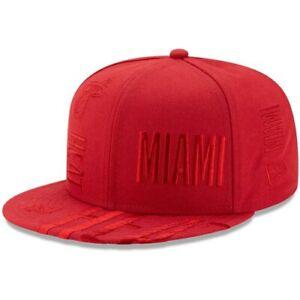 Miami-Heat-New-Era-2019-NBA-Tip-Off-Series-Team-Tonal-9FIFTY-Snapback-Hat-Red