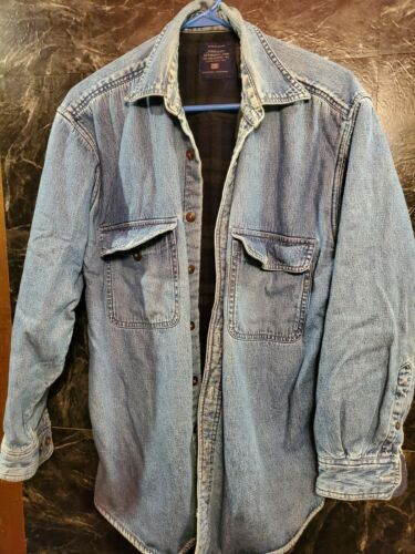 Vintage Faded Glory Denim Insulated Authentic Orig