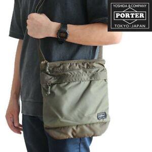 c6d811e2933c0 Details about PORTER Yoshida Bag 855-05901 Shoulder Bag FORCE Olive Drag  Fast Ship Japan EMS