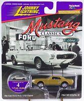Johnny Lightning mustang Classics 1975 Cobra Ii Racer 38- 1 64 - On Card Toys