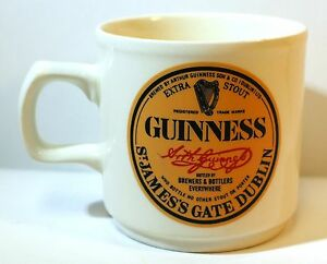 GUINNESS-Extra-Stout-BEER-COFFEE-MUG-Cup-St-James-Dublin