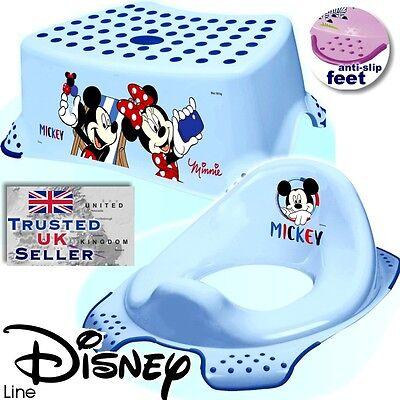 OKT BABY Kleinkind Toilete Training Sitz /& Tritthocker Disney Micky rutschfeste