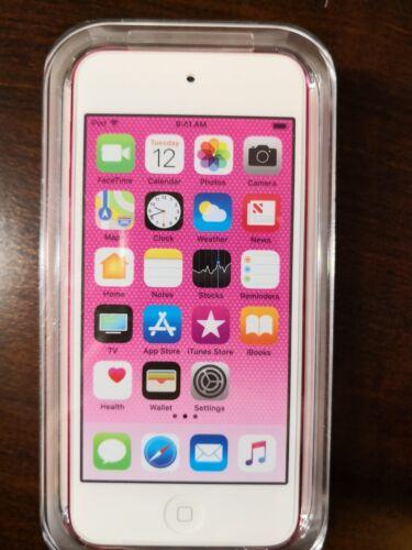 Pink Apple iPod Touch 6th Generation 32GB MKHQ2LL//A