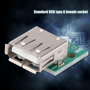10pcs-USB-Type-A-Female-Socket-Module-Board-2-54mm-Pitch-Adapter-Connector-DIP