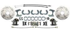 1960-1970 Ford Fairlane Disc Brake Kit Drilled/Slotted High Performance