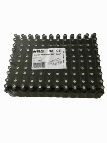 barette de 12 dominos connexion électrique 10mm² 960° X1,X2,X3,X4,X5,X10