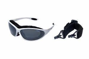 RAVs-Sport-Sonnenbrille-mit-Band-und-Buegel-Wechselbar-Glaeser-Antifog