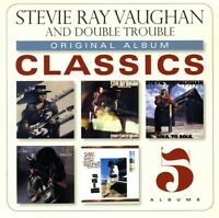 Stevie Ray Vaughan - Original Album Classics [new Cd] Boxed Set on Sale