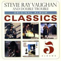 Stevie Ray Vaughan - Original Album Classics [new Cd] Boxed Set on Sale