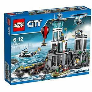 LEGO 60130 CITY STAZIONE DI POLIZIA SULL' ISOLA E PRIGIONE SET INTROVABILE NUOVO