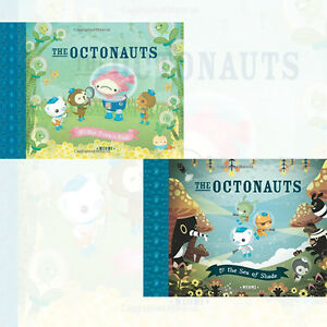 Meomi-The-Octonauts-2-Books-Collection-Set-Pack-Frown-Fish-the-Sea-of-shade-New