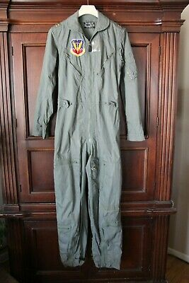 Vintage~Vietnam~US Air Force~Tactical Air Command~Military Issue Flight Jumpsuit   eBay