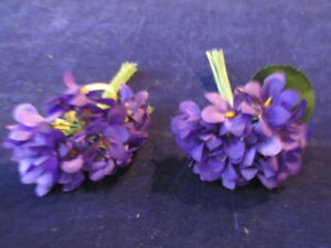 Vintage-Millinery-Flower-Collection-Purple-Violets-1-034-German-H3398