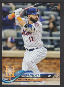 Topps-Update-2018-Base-US221-Jose-Bautista-New-York-Mets