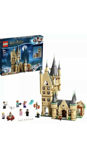75969 Box Is Destroyed LEGO Harry Potter Hogwarts Astronomy Tower Playset