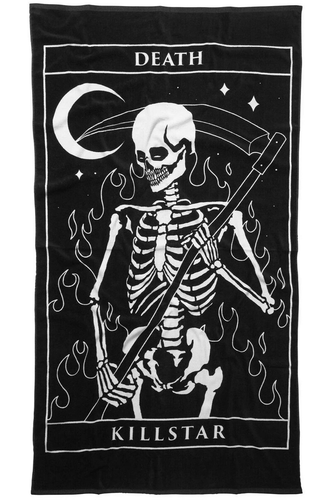 Killstar Death Thirteen Tarot Tarot Tarot Card Skeleton Gothic Pagan Beach Towel KSRA000186 443123