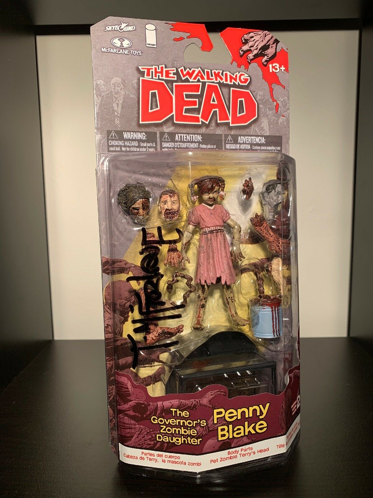 The Walking Dead Penny Blake Figure SDCC EE Exclusive Signed by Todd McFarlane