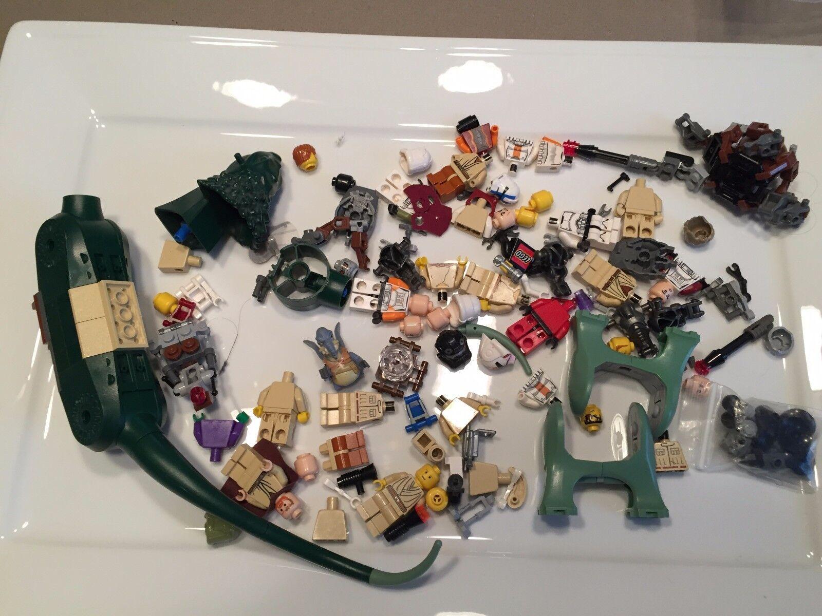 8 Ounces Lego Star Wars Minifig parts Pound Boga 1/2 Pound parts minifigures Lot S338 ac2d45