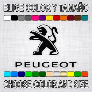 PEGATINA-PEUGEOT-vinilo-coche-autocollant-aufkleber-adesivi-sticker-auto-decal