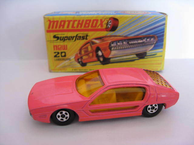Matchbox Lesney Superfast Number 20 Lamborghini Marzal. In Excellent Condition.