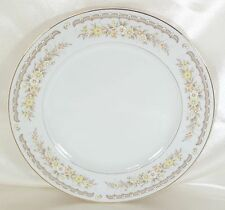 Vintage Dinner Plate EKCO International  GOLDEN AUTUMN White