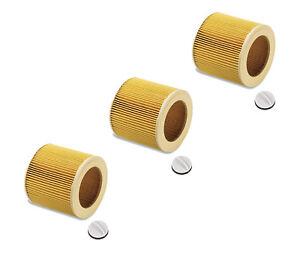 Filter für Kärcher A 2131 pt  A 2231 pt  A 2234 pt TE Rundfilter Patronenfilter