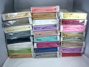 50-Cotton-Super-Soft-Deep-Pockets-Fitted-Sheet-400TC-Queen-Size