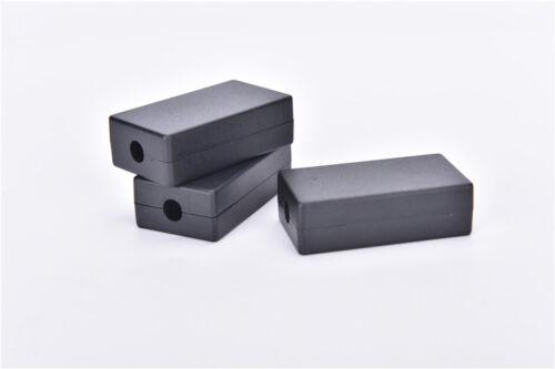 5pcs Electric Plastic Black Waterproof Case Project Junction Box 55x35x15 mm DSU