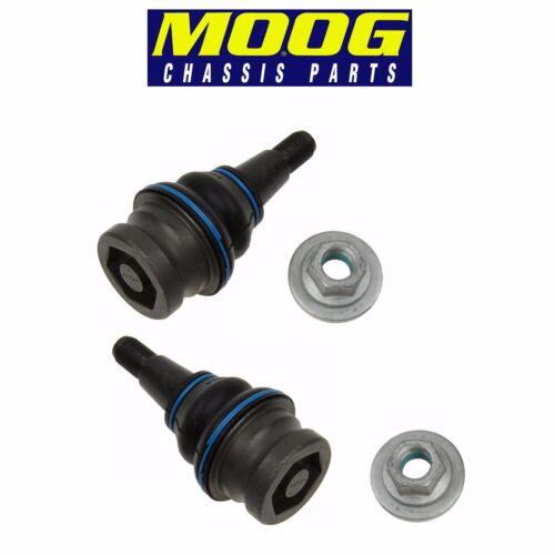 For Audi A4 A7 S4 S6 S7P Pair Set of Front Left /& Right Lower Ball Joints Moog
