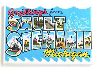 Greetings from Kokomo Indiana FRIDGE MAGNET travel souvenir