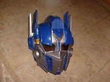 Optimus Prime Transformers Voice Changer & Talking Helmet Hasbro 2006 Cosplay