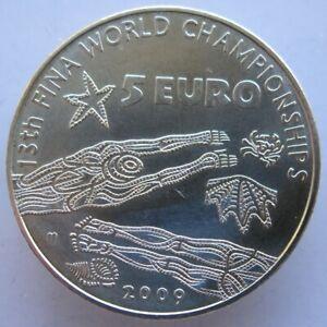 ITX00509.1 - 5 € ITALIE 2009 : 13è Championnat du Monde de Natation FINA -argenT
