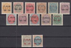 BB5622-ICELAND-1902-1903-MINT-SEMI-MODERN-LOT-CV-195