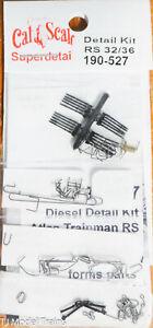 Cal-Scale HO #527 Diesel Detail Kit for: Atlas Trainman RS 32/36