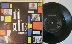 PHIL-COLLINS-Two-Hearts-The-Robbery-Excerpt-7-034-Single-EX-Cond