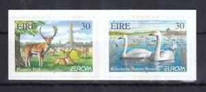 Irland-1999-posrfrisch-Europa-CEPT-MiNr-1141-1142-selbstklebend-Nationalparks