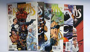 Marvel-Knights-2000-1st-Series-1-5-7-Marvel-Comics-VF-NM-Lot