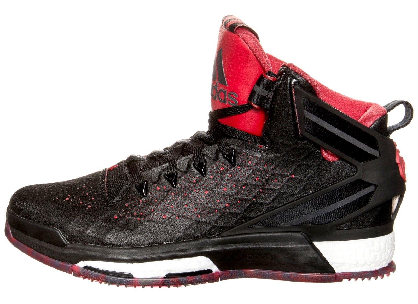Adidas S84944 Performance D Rosa 6 Boost Basketball Schuhe 53 1 3 UK17 Schwarz