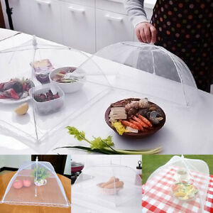 Pop-up Food Umbrella Cover Barbecue Party Mosquito Tent Mesh Net CA