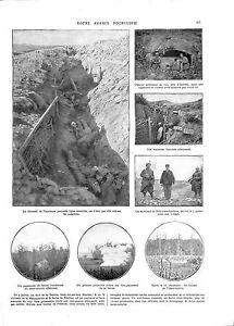 WWI-BATAILLE-DE-LA-SOMME-Estree-Casemate-Obusier-Belloy-en-Santerre-ILLUSTRATION