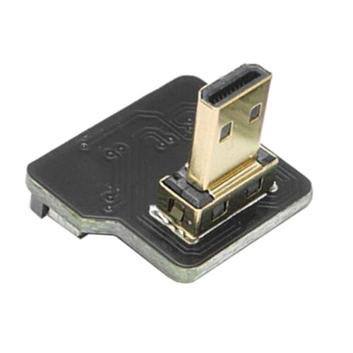 FPV HDMI Ribbon Cable Dual Up Angled HDMI 90 Degree HDMI Type A Male to Male FPC