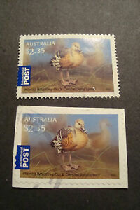 2012 Australia International Post Stamps~Waterbirds~Fine Used, UK Seller