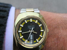 HAMILTON SELFWINDING 36000 HIG BEAT 17JEWELS HACKING MOVEMENT RARE FIND 1973