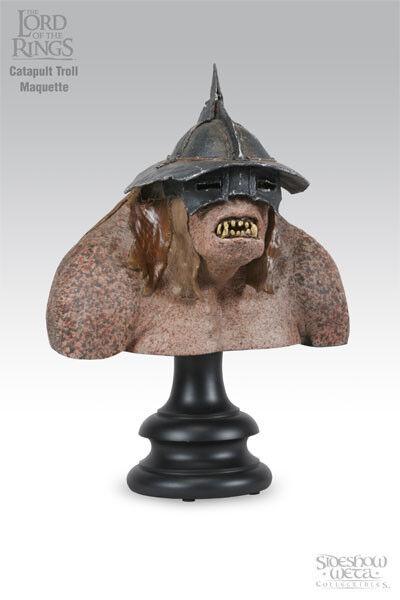 herr der ringe  katapult troll - pleite   ansässigen weta...