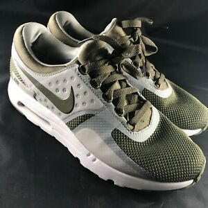 Nike Air Max ZERO Mens 9 42.5 EUR Sample Promo Medium Olive