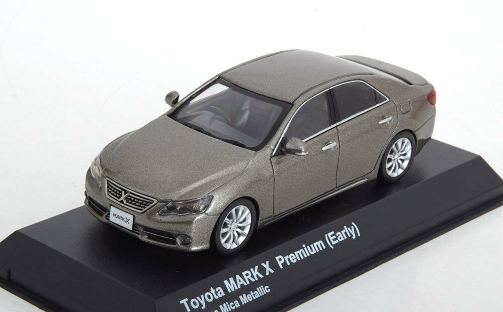 TOYOTA MARK X PREMIUM EARLY EARLY EARLY gris MICA METAL KYOSHO 03637BZ3 1 43 gris 2000 0ed328