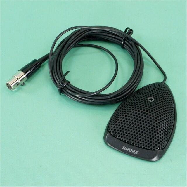 Shure Mx391/0 Omnidirectional Condenser Microphone X2 | eBay